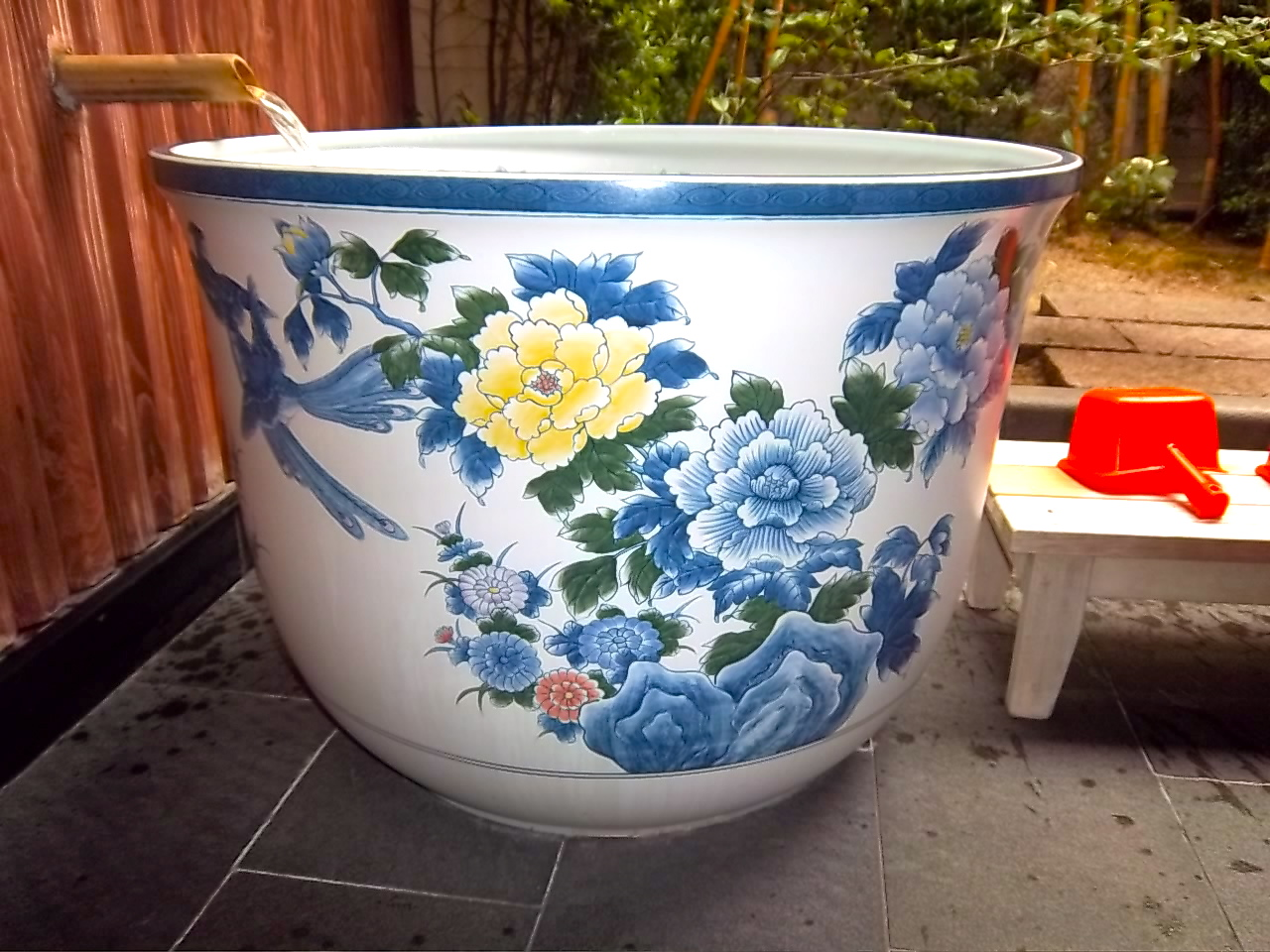 Arita Porcelain Tea Cup Baths Ureshino Hot Spring Saga