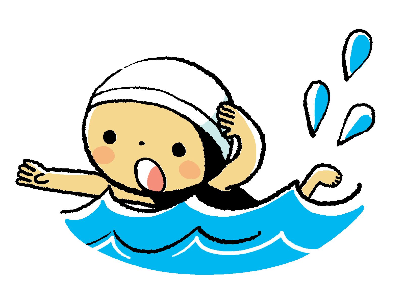 versatile award me  too  thanks      see more japan swimmer clip art images swimming clipart gif